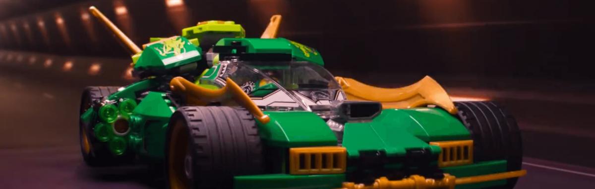 Lego ninjago Ride Wil Film animation production